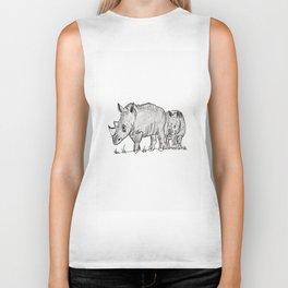 Rhinos Biker Tank