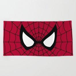Spider man superhero Beach Towel