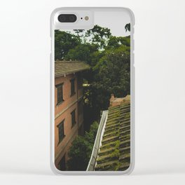 Kathmandu City Roof Tops - Architecture 01 Clear iPhone Case