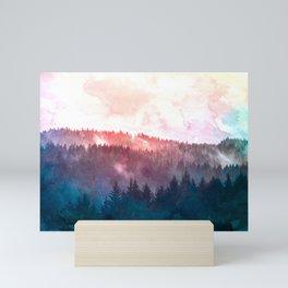 Sequoia National Park II - Wanderlust Adventure Mini Art Print