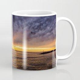 Redondo Beach Stormy Sunset Coffee Mug