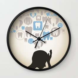 Toothache Wall Clock