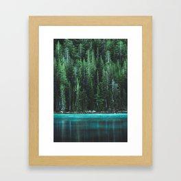 Forest 3 Gerahmter Kunstdruck