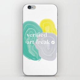 Verified Art Freak iPhone Skin
