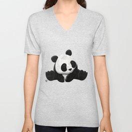 Lace Agate Panda Unisex V-Neck