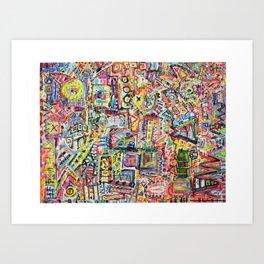 Adventures in Everything Art Print