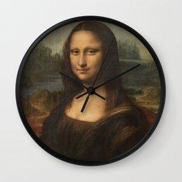 Mona Lisa, Leonardo da Vinci, 1503 Wall Clock