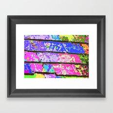 Lets Go Crazy! Framed Art Print
