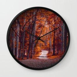 Beautiful Escape Wall Clock
