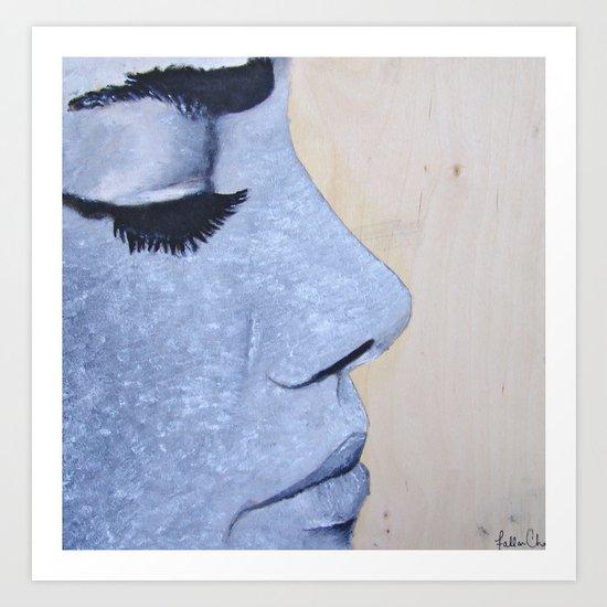 Eyelashes Art Print