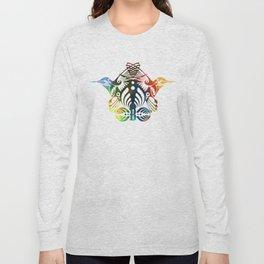 Bassnectar Family Crest (Color) Long Sleeve T-shirt