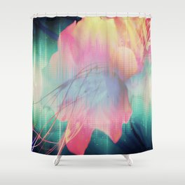 GD Lily  Shower Curtain