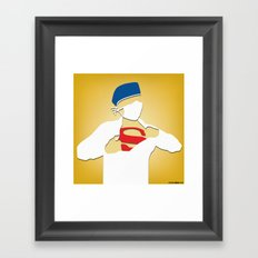 Surgery (Yellow) Framed Art Print