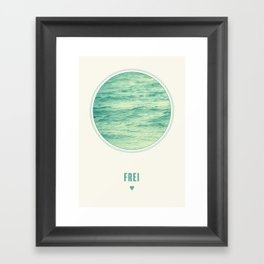 Frei Framed Art Print