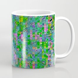 Pixel City Coffee Mug