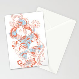 Tribal Paisley Stationery Cards