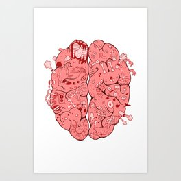 Thought Process Art Print