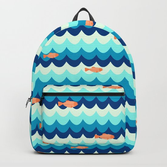 Fishes in the sea Backpack