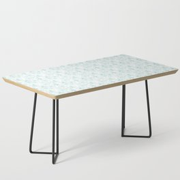 Floral Freeze White Coffee Table