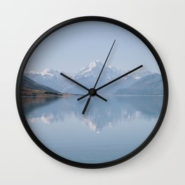 mirror lake Wall Clock