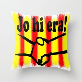 Catalonia United Throw Pillow