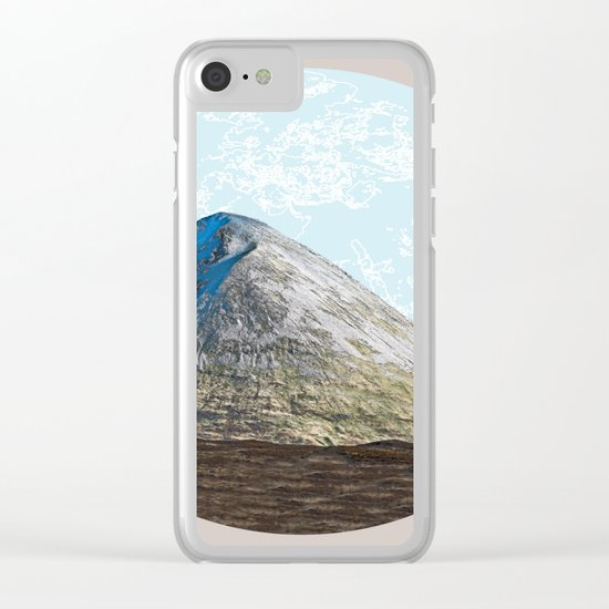 When the whole world is in front of you Clear iPhone Case
