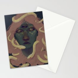 of witches and pets Stationery Cards