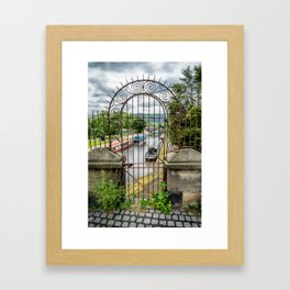 Rusty Gate Framed Art Print