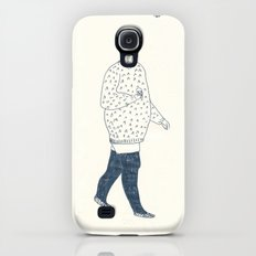 girl with an ice cream Galaxy S4 Slim Case
