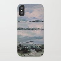 maine iPhone & iPod Cases featuring Maine by Samantha Crepeau