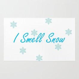 I SmeIl Snow Rug