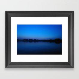 2006 - Blues After Sunset (High Res) Framed Art Print