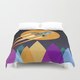 Rocket  2nd Star to the right  LLAP Duvet Cover
