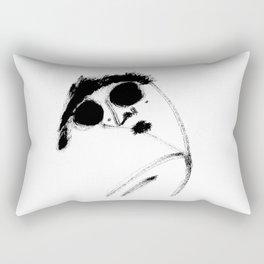 Confidence all over Rectangular Pillow