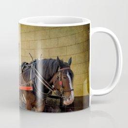 Horse And Cart Coffee Mug