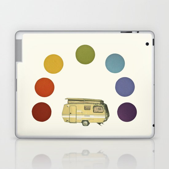 We Camped Beneath a Rainbow Laptop & iPad Skin