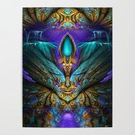 Transcendental - Fractal Manipulation Poster
