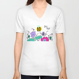 Bee Kind Unisex V-Neck