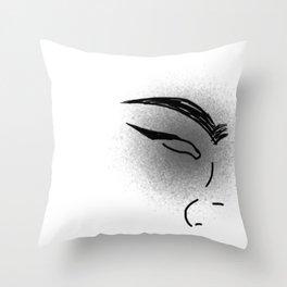 Casual Silence Throw Pillow
