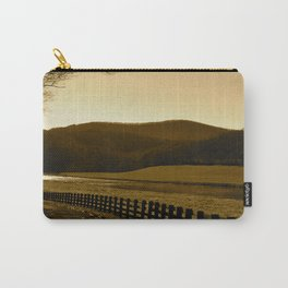 Down the Golden Loop Carry-All Pouch