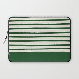 Holiday x Green Stripes Laptop Sleeve