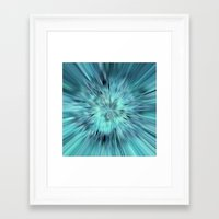 emerald Framed Art Prints featuring Emerald by Armine Nersisian