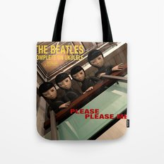 Please Please Me Tote Bag