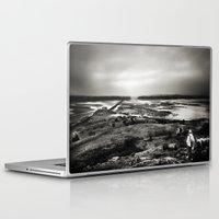scotland Laptop & iPad Skins featuring Cramond, Scotland by Mara Brioni Art Photography