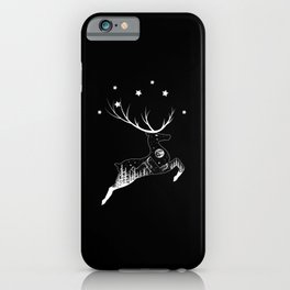 Give Me Space Deer T-shirt iPhone Case