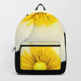 white dune flower Backpack