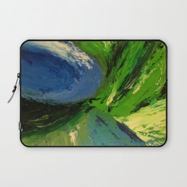 Abstract Maelstrom by Robert S. Lee Laptop Sleeve