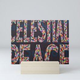 celestial peace Mini Art Print