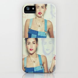 Miley Cyrus x Cigarette  iPhone Case