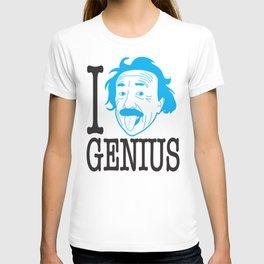 I __ Genius T-shirt